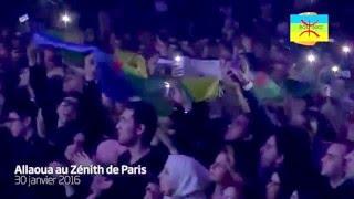 Mohamed ALLAOUA au Zenith le 30 janvier 2016 ??? Hommage à Matoub , Idir et Menguellet ???