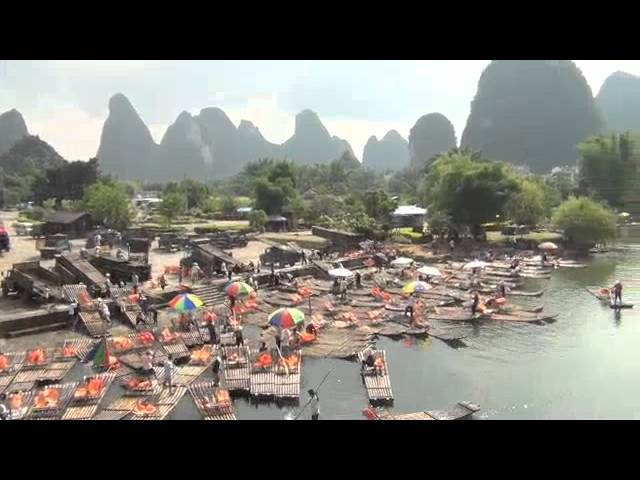 Moon Hill (Mondberg) bei Lipu County,  Yangshuo, Guilin