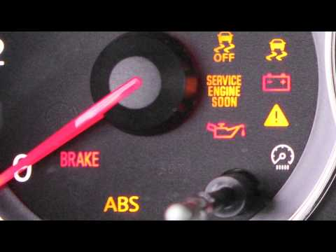2013 NISSAN Altima Coupe - Warning And Indicator Lights