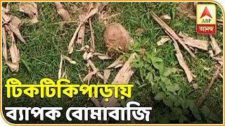 ডোমকলের টিকটিকিপাড়ায় ব্যাপক বোমাবাজি, আতঙ্কিত ভোটাররা | ABP Ananda