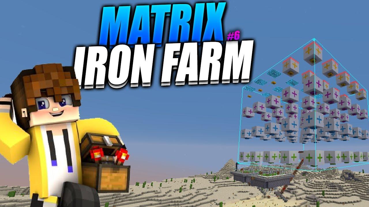 MATRIX IRON FARM - Survival Técnico 1.15.2 - #6 | Ep.29