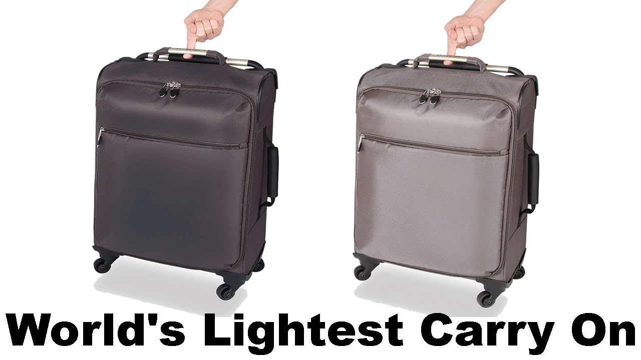 Best Lightweight Carry On Luggage With Wheels - YouTube
