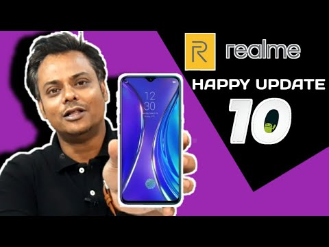 Realme Happy Update For All Realme Devices | Color Os 7 & Android 10 Update Date For Realme Devices