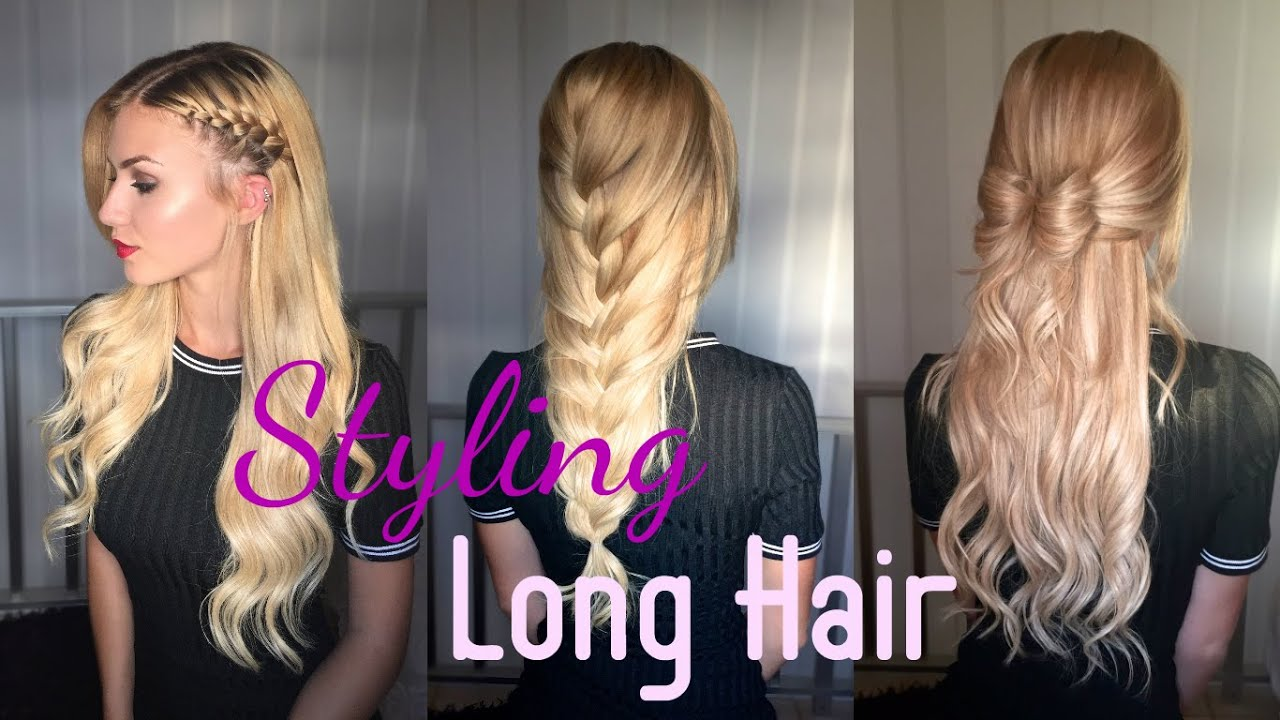 Amazing ways to style long hair irresistible me extensions amazing ways to style long hair irresistible me extensions stella youtube pmusecretfo Images