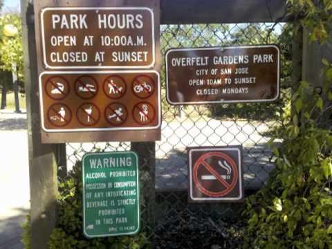 Hidden Treasures. San Jose Parks.