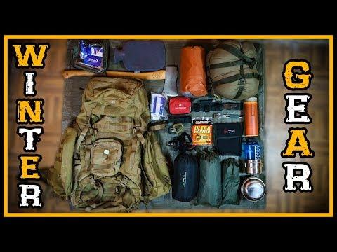 Unsere Bushcraft Winter Ausrüstung - Übernachtung unter 0°C - Survival Outdoor