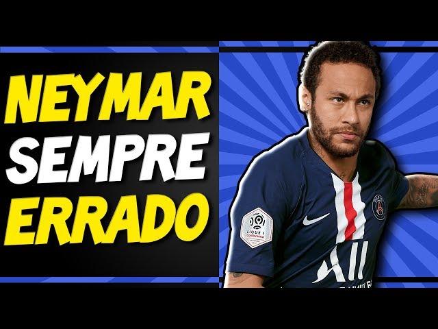 Neymar PROVOCA PSG pra exaltar o Barcelona - Entenda TODA A TRETA
