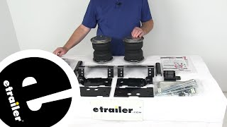 Air Lift Vehicle Suspension - Rear Axle Suspension Enhancement - AL89399 Review - etrailer.com