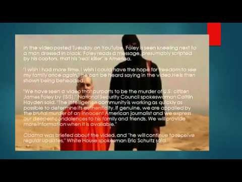 The real video ISIS James Foley US Journalist