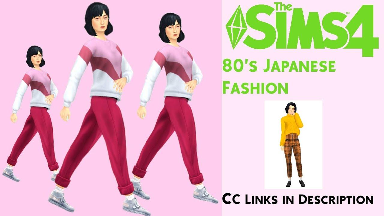 80 s Japanese Fashion   CC Links YouTube