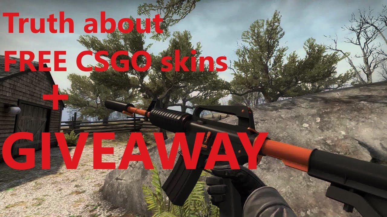 Truth about getting free csgo skins! No BS  (open giveaway)