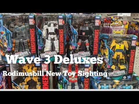 Transformers Earthrise Wave 3 Deluxe Sightings by Rodimusbill