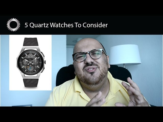 5 Quartz Luxury Watches You Should Consider - Federico Talks Watches