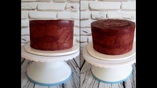 Мастер-класс: Как и чем выравнивать торт. Рецепт ганаша.