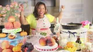 Pancake Talk Tuesday: Peach Blueberry Baked Pancake And Peach Sangria