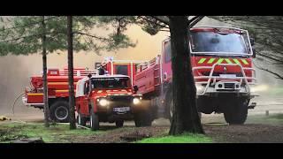L'équipe feux de végétation du Sdis de la Vendée