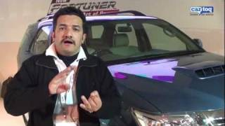 Auto Expo 2012: New Toyota Fortuner video review of D4D 2WD Automatic CarToq