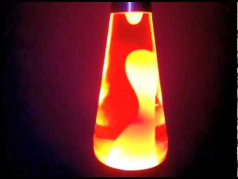 Lava Lite Usa Lava Lamp Time Lapse Orange White Great Flow