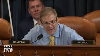 WATCH: Rep. Jordan says Trump's Ukraine call must be read in context | Trump impeachment hearings