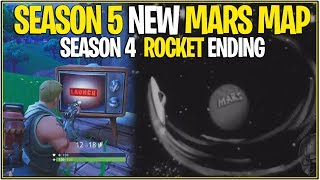 Fortnite: SEASON 5 NEW MARS MAP LEAKED? (Rumeurs et fuites discussion!)