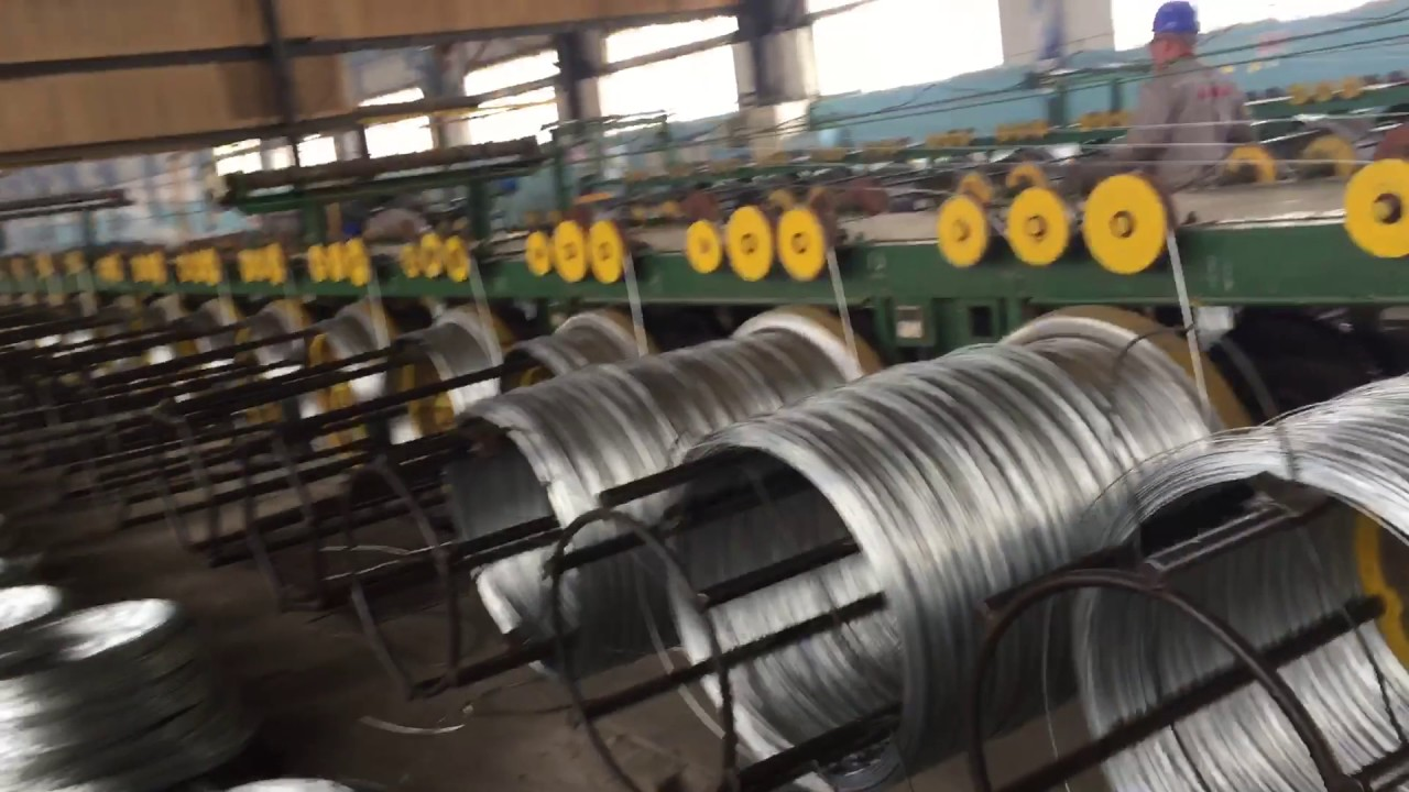 China galvanized steel wire GI binding wire factory manufacture ...