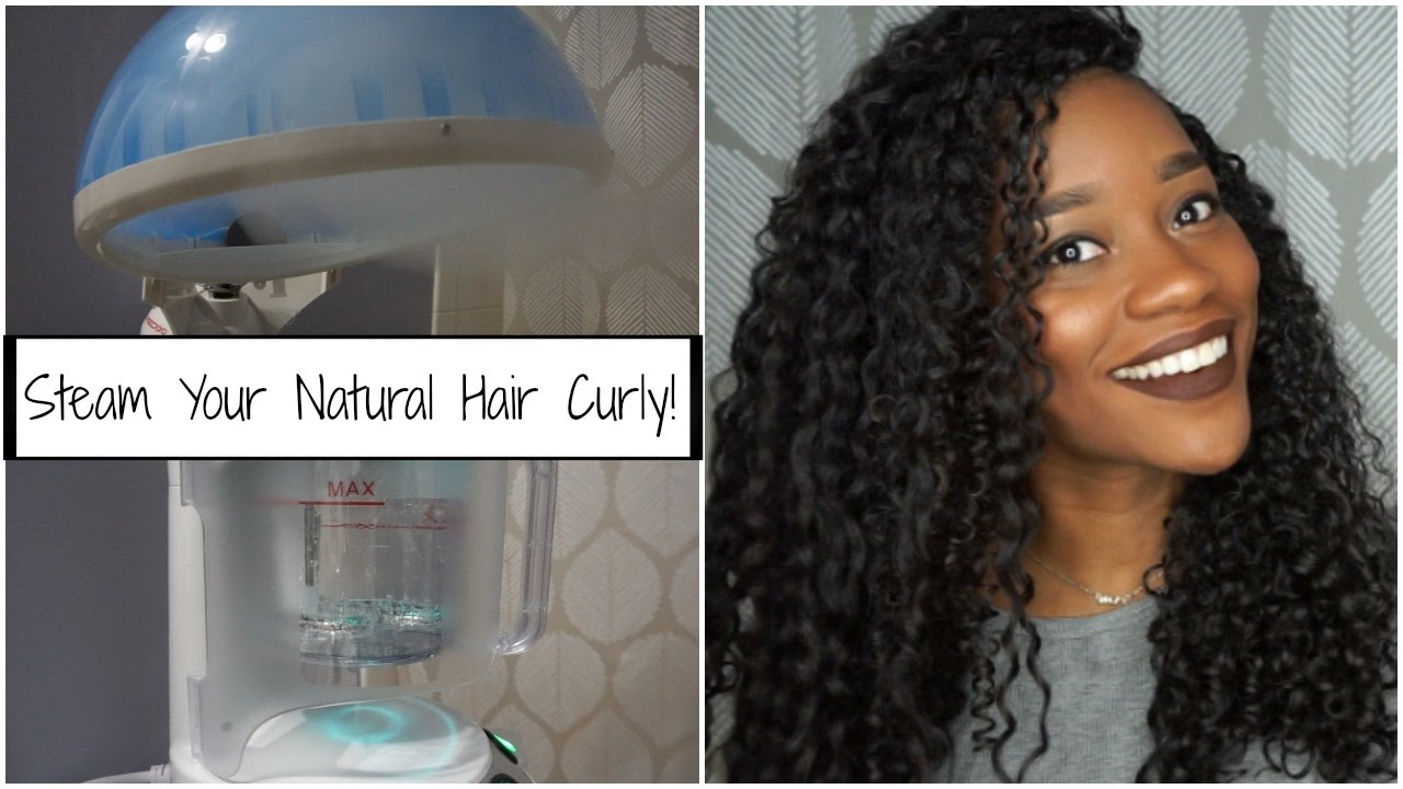 How to steaming my natural hair with red pro hair steamer youtube solutioingenieria Images