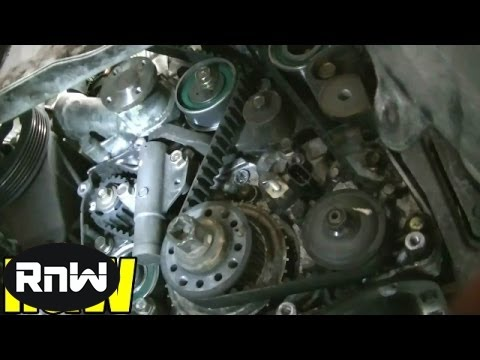 How To Remove And Replace The Timing Belt And Water Pump