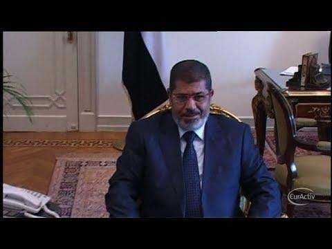 Ousted Egyptian president Morsi is 'well', says EU's Ashton