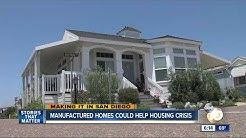 Manufactured homes could San Diego's housing crisis