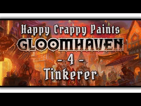 HC paints Gloomhaven #4 - Tinkerer