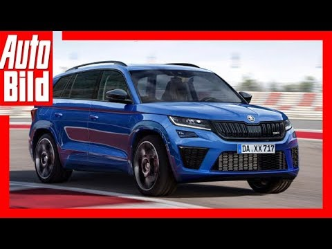 zukunftsaussicht skoda kodiaq rs 2018 youtube. Black Bedroom Furniture Sets. Home Design Ideas