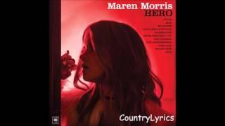 Maren Morris ~ Sugar (Audio)