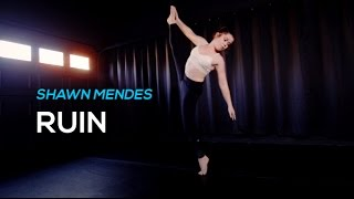 Shawn Mendes - RUIN  | DANCE VIDEO | Sparkles Lund Choreography