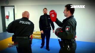 Steven Gätjen bei der Akademie der Polizei Hamburg