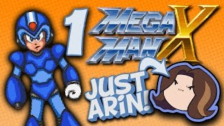 MegaMan X: Just the Arins - PART 1 - Game Grump