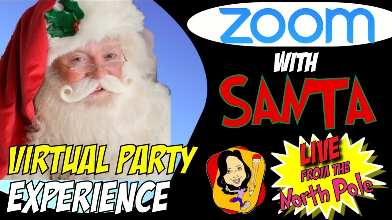 Zoom With Santa Zoom Holiday Party Virtual Santa Party Experiences Youtube