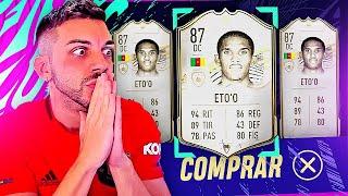 ASÍ HE FICHADO A SAMUEL ETO'O EN FIFA 21