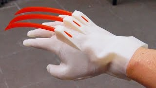 AWESOME 3D PRINTED WOLVERINE GLOVE!!! thumbnail