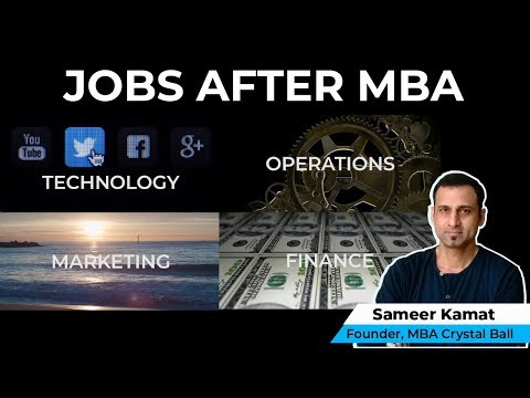Jobs after an MBA | MBA Crystal Ball