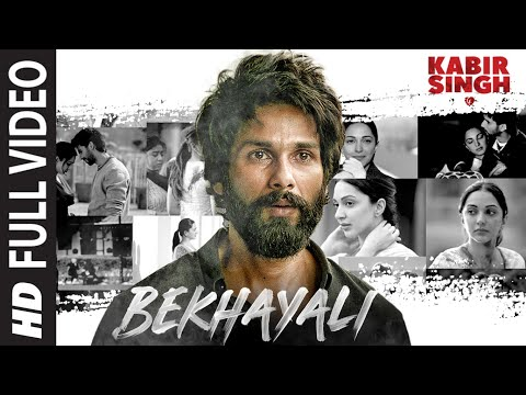 'Bekhayali' sung by Sachet Tandon