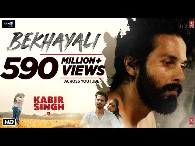 Bekhayali Full Song   Kabir Singh   Shahid K,Kiara A Sandeep Reddy Vanga   Sachet-Parampara   Irshad