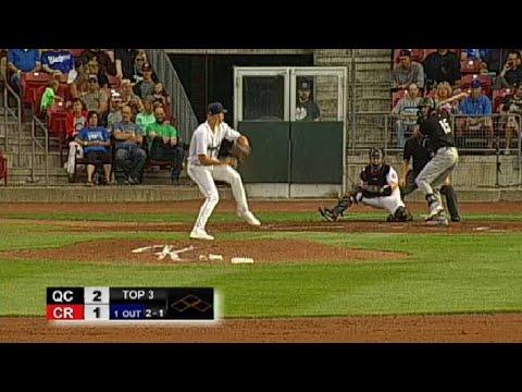 David Hensley hits homer
