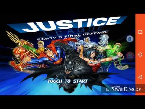 Liga da Justiça - A última defesa da terra - APK+DATA