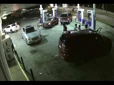SURVEILLANCE VIDEO/PHOTOS: Suspect wanted in double shooting