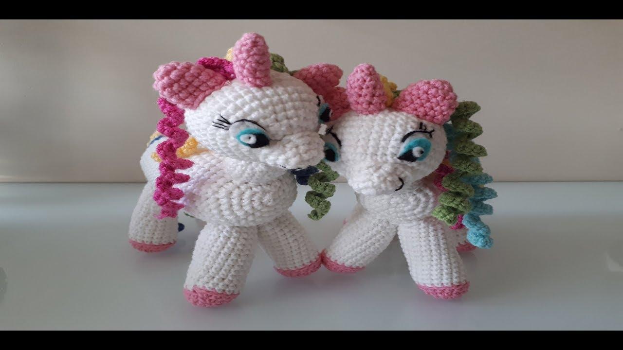 Baby unicorn amigurumi pattern - Amigurumi Today | 720x1280