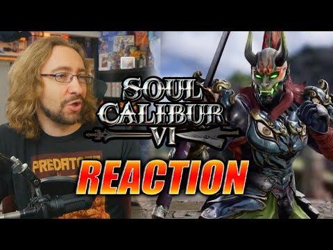 MAX REACTS: Yoshimitsu Reveal Trailer - SOUL CALIBUR 6