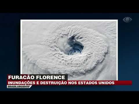 EUA: Furacão Florence causa inundações e destruições