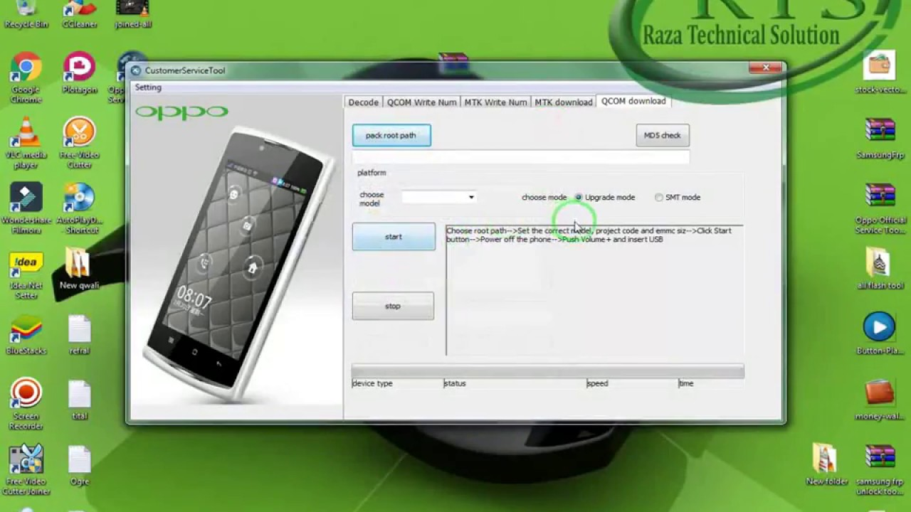 Oppo Official Service Tool v1 2 latest 2018 - Raza Technical Solution