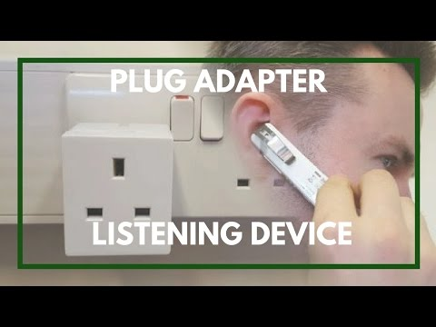 GSM Bugging Device | Double Plug Adapter Tutorial