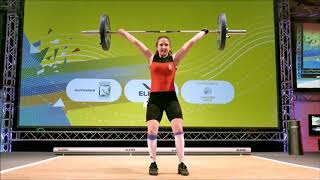 Girls 63kg Group A - 2018 European Youth Weightlifting